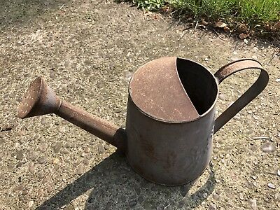 Vintage Antique Galvanized Watering Can