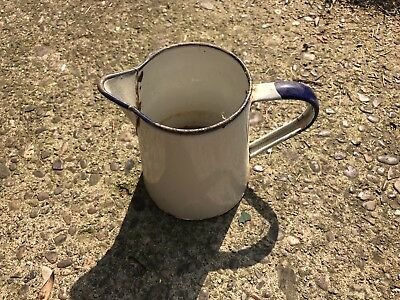 Vintage Antique Watering Can Pitcher