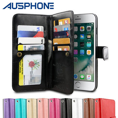 Leather Flip Case Wallet Cover Stand For iPhone 11 Pro XS Max XR 8 7 6S Plus 5S