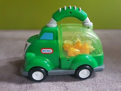 Little tikes popping recycling truck