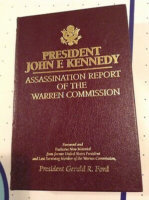 Gerald Ford Signed Book, Warren Commission Report