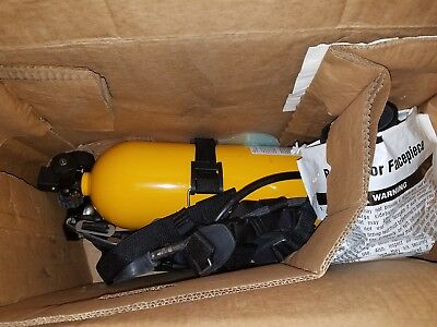 MSA SCBA Air Respirator with full face mask ** Brand New