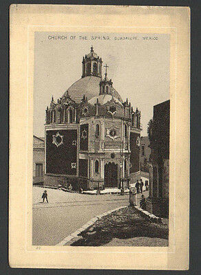 Victorian Advertising TradeCard JerseyCoffee Church OfTheSpring Guadalupe Mexico