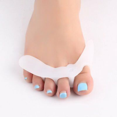 1Pair Gel Toes Separators Orthotics Stretchers Align Correct Overlapping Toes F5