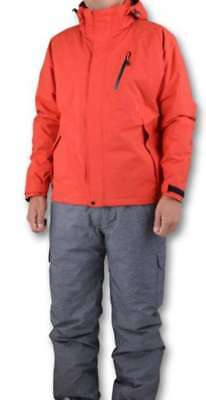 Megabass THERMO SUITS Red M F/S from JAPAN