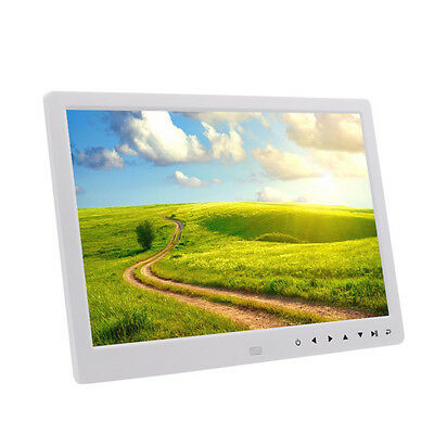"""12""""LED HD Digital Photo Frame Picture MP3 MP4 Clock Video +Remote Control New ##"""