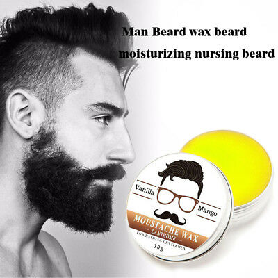 Pro 30g Natural Beard Oil And Balm Moustache Wax For Styling Beeswax Salon