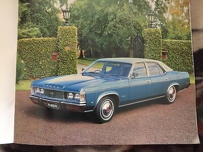 Ford Fairlane Marquis Brochure Genuine