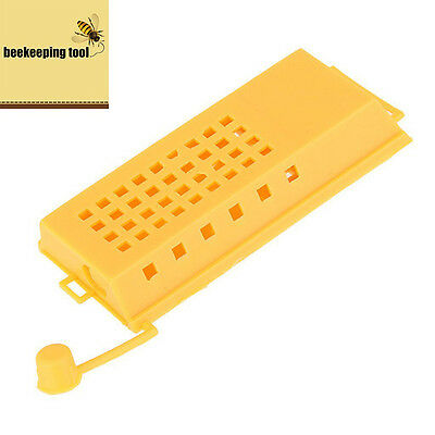 5pcs Queen Bee Cages Beekeeping Appliances Equipment Plastic Beekeeper.