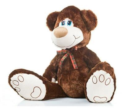 Big D.Brown Teddy Bear 100cm Large Great Present Kids Gift Suprise (SM-III)