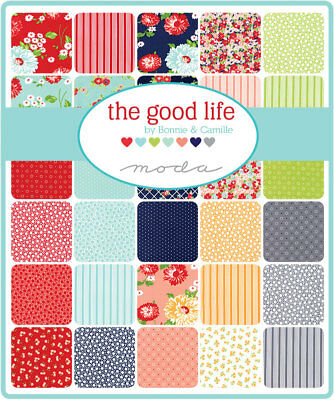 Quilting Fabric Moda -Charm Pack - The Good Life From Bonnie And Camille X 42