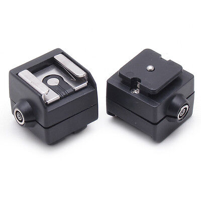 "SC-2 Flash Hot Shoe PC Sync Socket Adapter for Camera 29*26*25mm(1.1""""x1""""x1"""")."