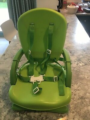 Mothercare Deluxe Folding Booster Seat With Bag  - Green