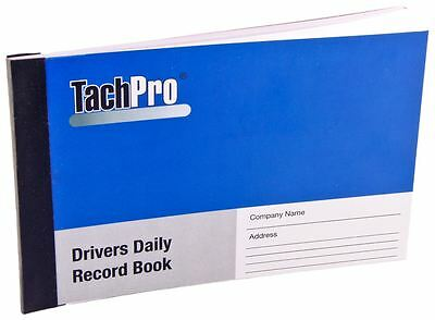 50 x Drivers Hour Record Book