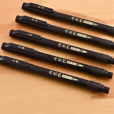Chinese Japanese Calligraphy shodo Brush Re-Ink Soft Tip Pen Writing Painting.