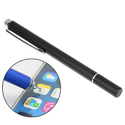 Useful Fine Point Round Thin Tip Capacitive Stylus Pen For iPhone iPad Mini Air.