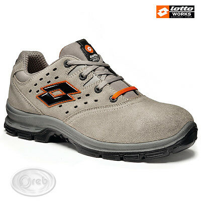 Safety Shoes Lotto Works Sprint 201 S1P Src Q8360 Tip Steel