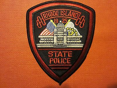 Collectible Rhode Island  State Police Patch New