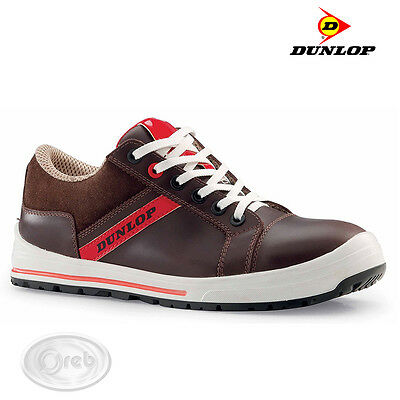Safety Shoes Dunlop Street Response Brown Low Dl0201007 S3 Src
