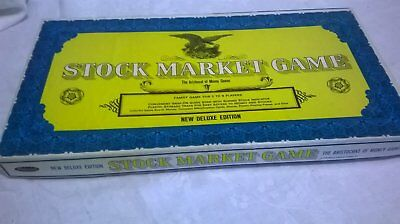 Vintage 1968 STOCK MARKET GAME  Deluxe Edition