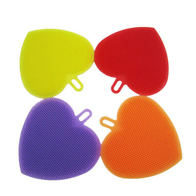 Sponge Antibacterial Hot Silicone Cleaning New Kitchen Tool Multipurpose Dish