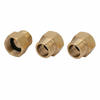 1/2BSP Female to G1/2 Male Thread Spray Machine Adapter Fitting 3pcs