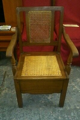 PRICE REDUCED Antique commode chair