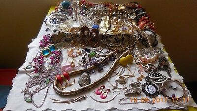 Bulk Lot Vintage-Now Jewellery All-To-Wear ..Collectables Wonderful Variety