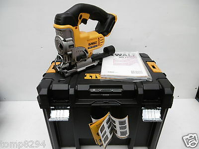 Dewalt Xr 18V Dcs331 Bare Unit Cordless Jigsaw + Deep Tstak Case