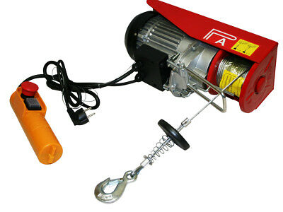 Electric Scaffold Hoist 300 / 600 Kg, 1200W Electric Winch With Hook And Pulley