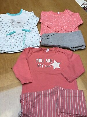 Lot 3 pyjamas 18 mois