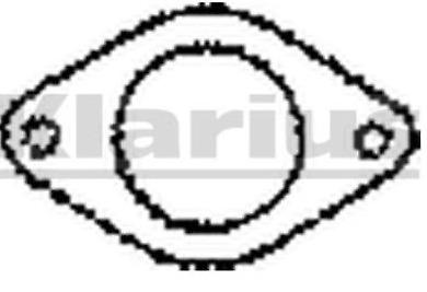 Klarius Two Pin Exhaust Gasket FDG29 for various Ford / Nissan / Rover etc