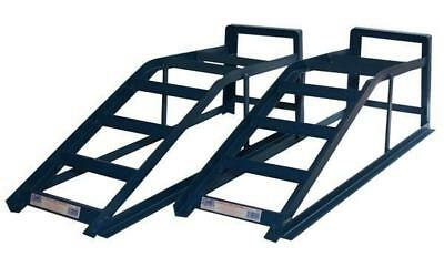 Cougar Heavy Duty Extra Wide Metal Car & Van Ramps 2.5 Tonne 25000KG Capacity