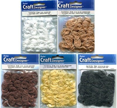 Curly Doll Hair, 13mm Wide Curls, pk of 14g
