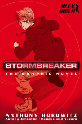 Stormbreaker (Stormbreaker the Movie) Graphic Novel, Anthony Horowitz, Antony Jo