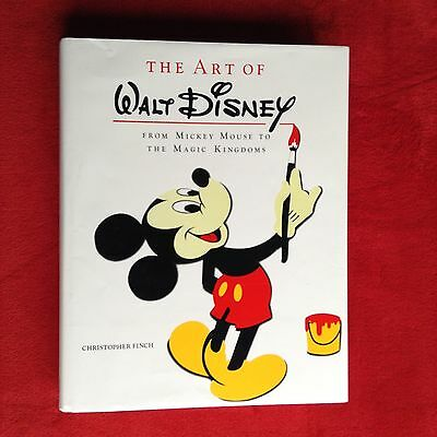 *The Art of Walt Disney: From Mickey Mouse to the Magic Kingdoms by C. Finch