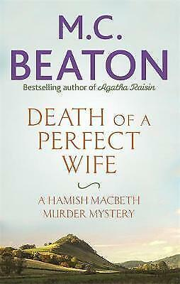 Death of a Perfect Wife by M. C. Beaton (Paperback) New Book