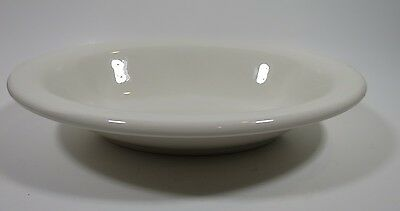 Vtg Homer Laughlin White Oval Serving Bowl Restaurant Ware Best China