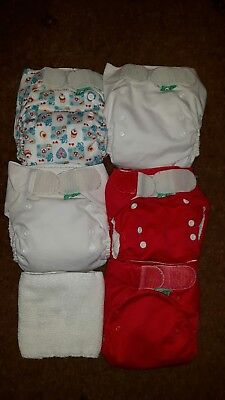 Preloved reusable nappies. Tots Bots. Birth to potty