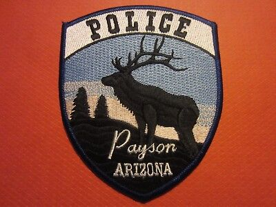 Collectible Arizona Police Patch, Payson, New
