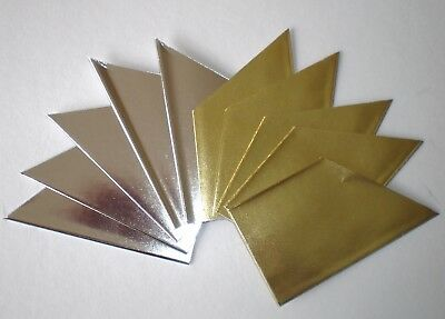 12 Assorted Gold / Silver Cracker Hats Christmas / Party