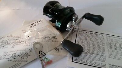 Shimano Curado 201E7 Made in JAPAN - original box and papers