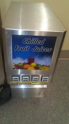 ICI 4 Selection Juice Machine Compare w/ Bunn JDF / Quest CONTACT 4 SHIPPING