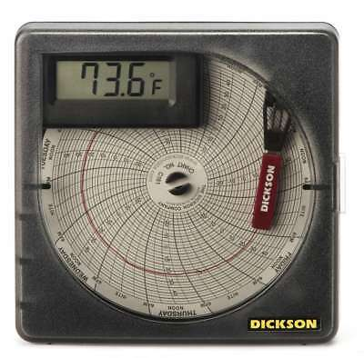 Dickson SL4350 Temperature Recorder, -30 to +50°C (-22 to +122°F), 7-Day