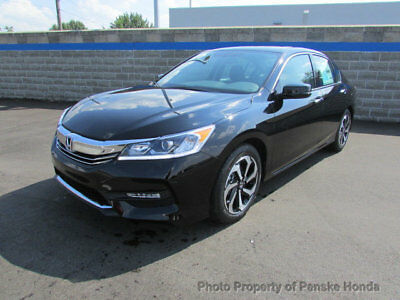 2017 Honda Accord EX-L V6 Automatic EX-L V6 Automatic New 4 dr Sedan Automatic Gasoline 3.5L V6 Cyl Crystal Black Pe