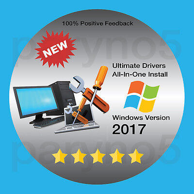 2017 Install Repair Restore Computer PC Drivers DVD Windows XP Vista 7 8 8.1 10