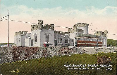 Hotel & Mountain Railway, SNAEFELL, Isle Of Man