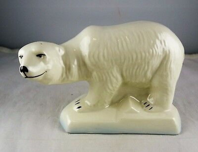 Belleek Irish China Polar Bear Figurine