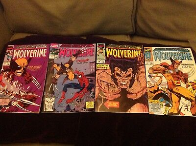 Wolverine Comics run 45,46,47,48