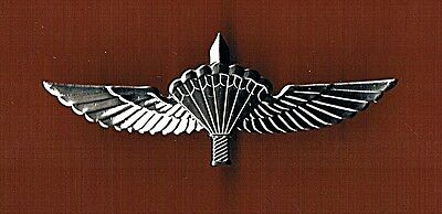 Israel Idf Army New Tactical  Parachute Wings  Qualification Badge  Pin.